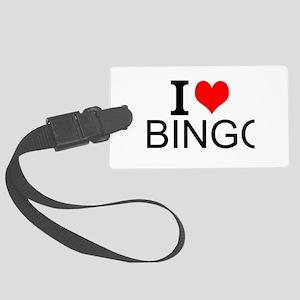 I Love Bingo Luggage Tag