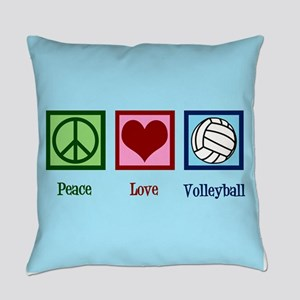 Cool Volleyball Everyday Pillow