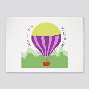 Balloon Ride 5'x7'Area Rug
