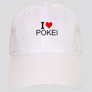 I Love Poker Baseball Cap