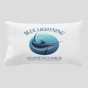 Blue Lightning Pillow Case