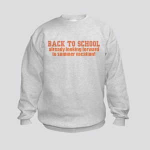 BTS Summer Orange Kids Sweatshirt