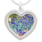 Van Gogh Blue Irises Necklaces