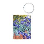 Van Gogh Blue Irises Keychains
