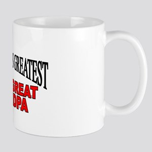 """The World's Greatest Great Great Grandpa"" Mug"