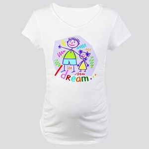 I Dream of My Husband & Daughter Maternity T-Shirt