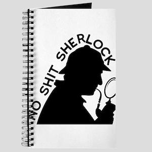 No Shirt Sherlock Journal