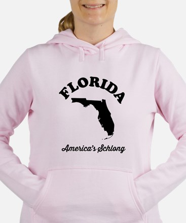Florida America's Schlong T-shirts Women's Hooded