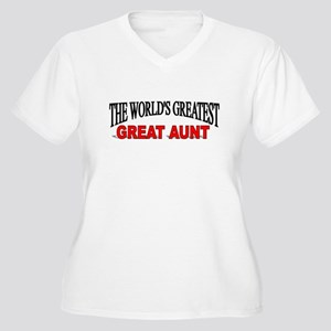 """The World's Greatest Great Aunt"" Women's Plus Siz"