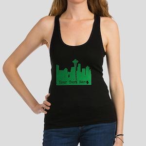Seattle Skyline Racerback Tank Top
