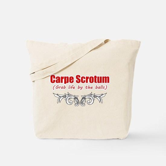 Funny Scrotum Tote Bag