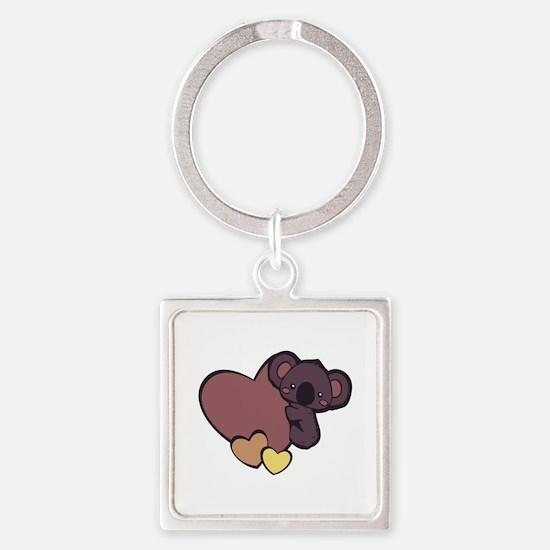 Koala Love Keychains
