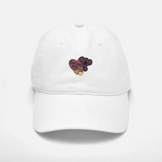 Koa-Love You Baseball Cap