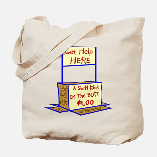 Swift Kick In The Butt $1 Tote Bag