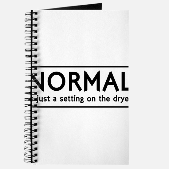NORMAL is just setting on the dryer Journal
