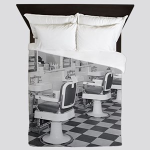 Executive Barber Shop, 1935 Queen Duvet