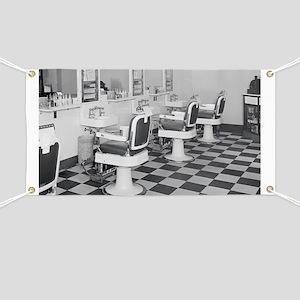 Executive Barber Shop, 1935 Banner