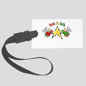 Peace on Earth Angels Luggage Tag