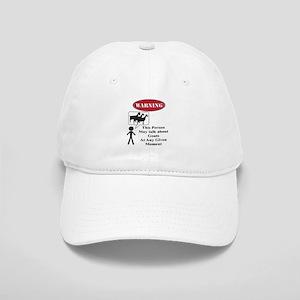 Funny Goat Warning Baseball Cap