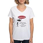 Funny Goat Warning T-Shirt