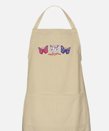 Butterflies Are Free BBQ Apron