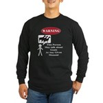 Funny Goat Warning Long Sleeve T-Shirt