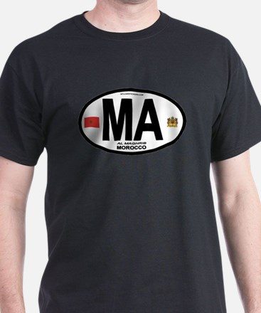 Morocco Euro-style Country Co T-Shirt