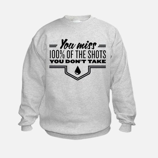 Hockey Quote Sweatshirt