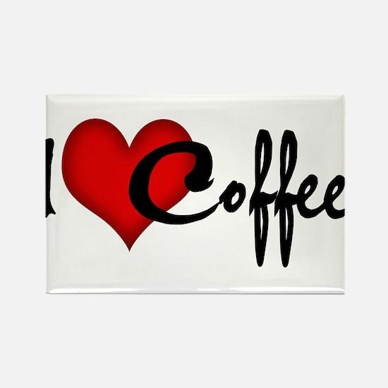 I LOVE COFFEE Magnets