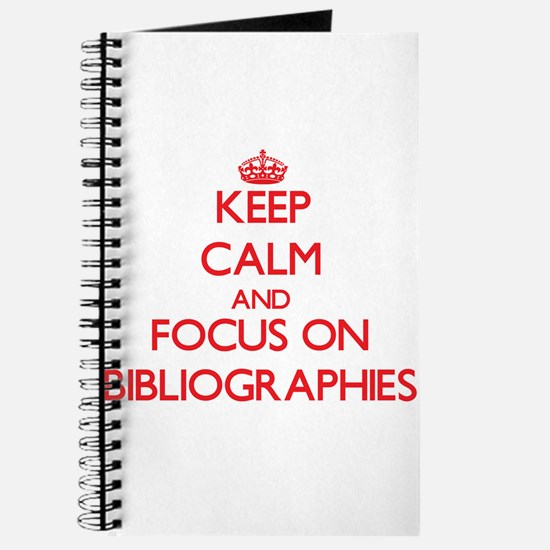 Funny Bibliography Journal