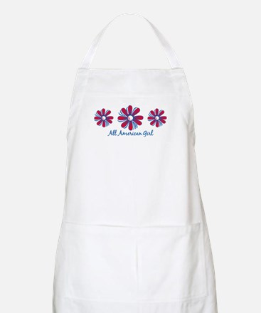 All American Girl BBQ Apron