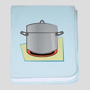 Pot Base baby blanket