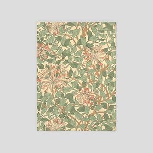 William Morris Honeysuckle pattern 5'x7'Area Rug