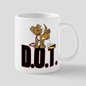 Piss on DOT Mugs