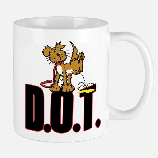 Piss on DOT Mugs