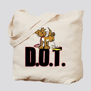 Piss on DOT Tote Bag