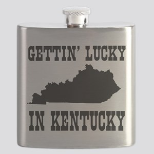 Gettin' lucky in Kentucky Flask