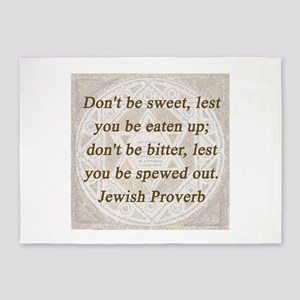 Dont Be Sweet 5'x7'Area Rug