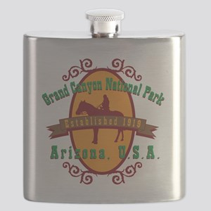 Grand Canyon National Park Horse Flask