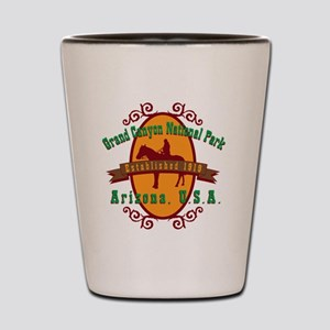 Grand Canyon National Park Horse Shot Glass
