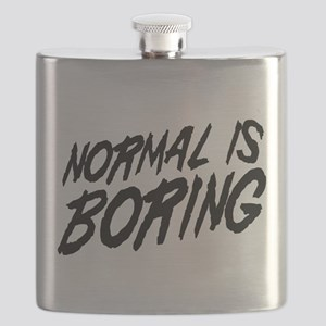 Normal is Boring Flask