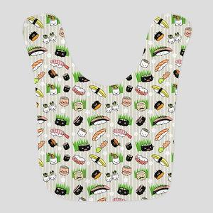 Sushi Characters Pattern Bib