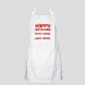Happy Birthday Apron