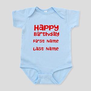 Happy Birthday Body Suit