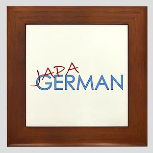 Japagerman Framed Tile