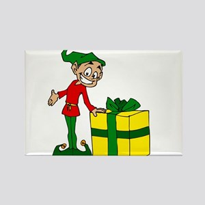 elf with package Magnets