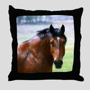 Horse Muscle Throw Pillow