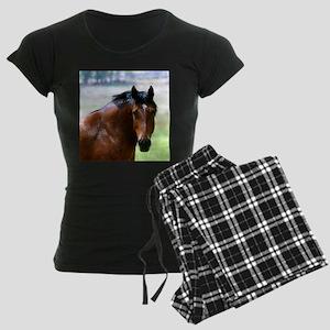 Horse Muscle Women's Dark Pajamas