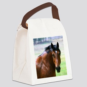 Horse Muscle Canvas Lunch Bag