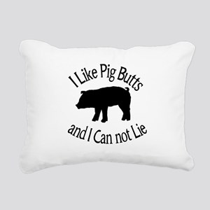 I Like Pig Butts and I Can not Lie Rectangular Can